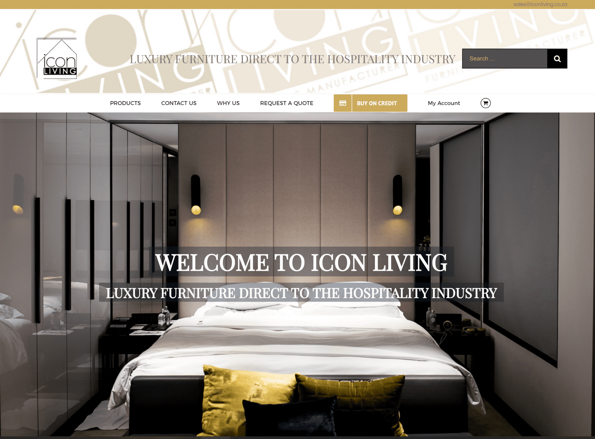 Icon Living, AOM, Digital Marketing Agency, Recent Work