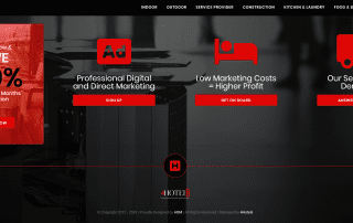 AOM, Digital Marketing Agency, Recent Work